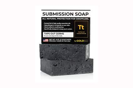 tea tree oil and charcoal soap