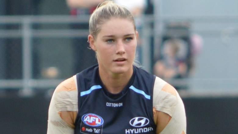 AFL Star Tayla Harris