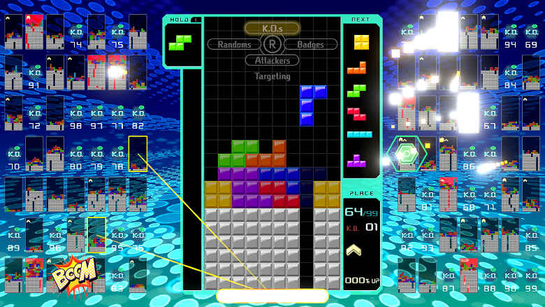 Tetris 99 Best Nintendo Switch Games to play on the go
