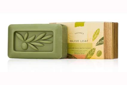 herbal olive oil soap bar