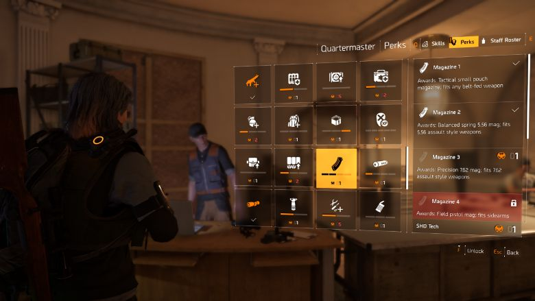 The Division 2 Unlock Weapon Mods