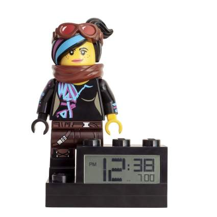 The Lego Movie 2 Wyldstyle Kids Minifigure Light Up Alarm Clock