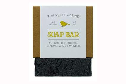 all natural activated charcoal bar soap