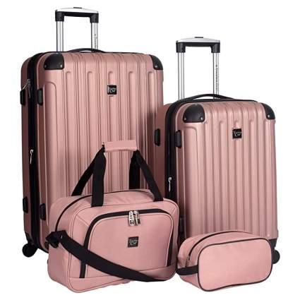 travelers club luggage set