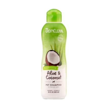 TropiClean dog shampoo