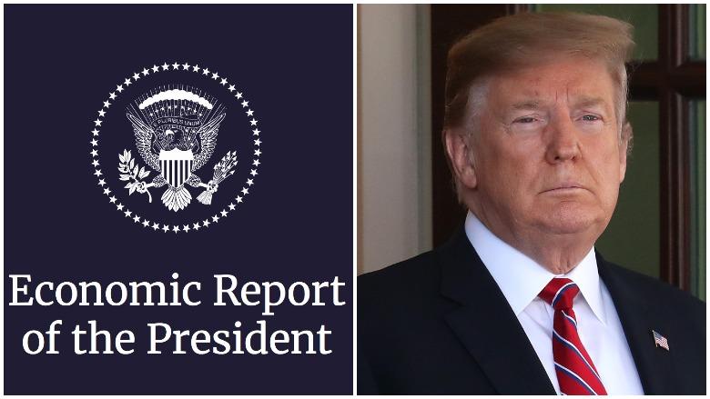 trump economic report interns