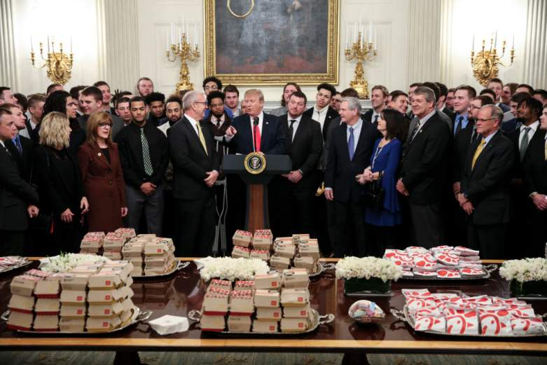 President Donald Trump Welcomes FCS National Champ North Dakota State Bison to the White House