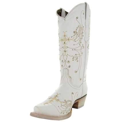 Women's Wedding Cowgirl Boots