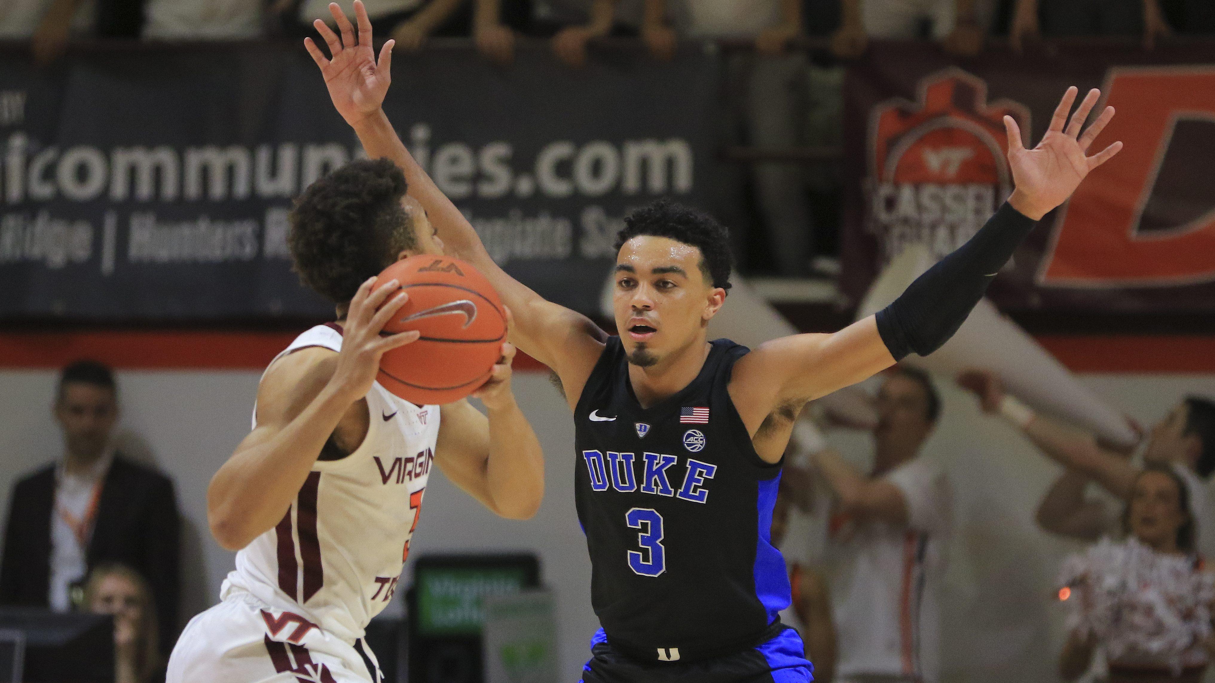 Duke Vs Virginia Tech Betting Line Prediction Pick Heavy Com