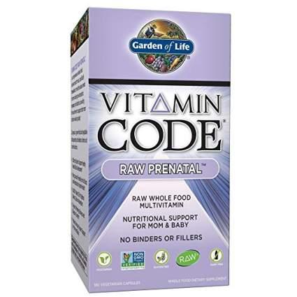 Garden of Life Vitamin Code Raw Prenatal
