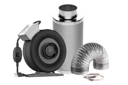VIVOSUN Air Filtration Kit