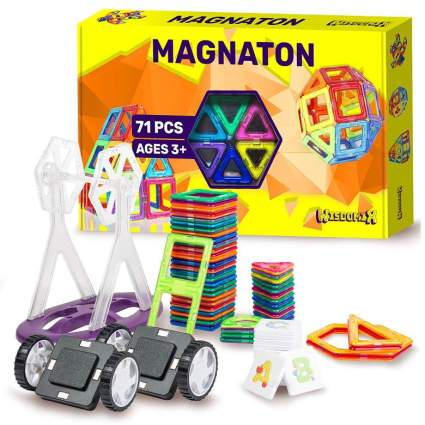 WISDOMIX MAGNATON Magnetic Building Blocks