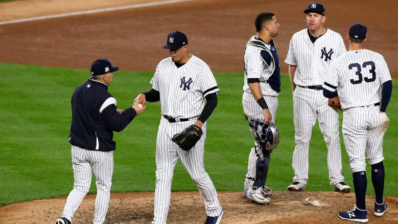 Yankees Lineup & Roster vs Astros: Dellin Betances Injury Update