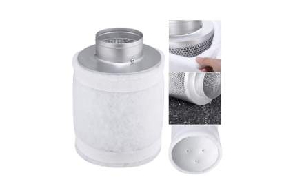 "Yescom 4"" Hydroponic Coconut Shell Air Activated Carbon Filter"