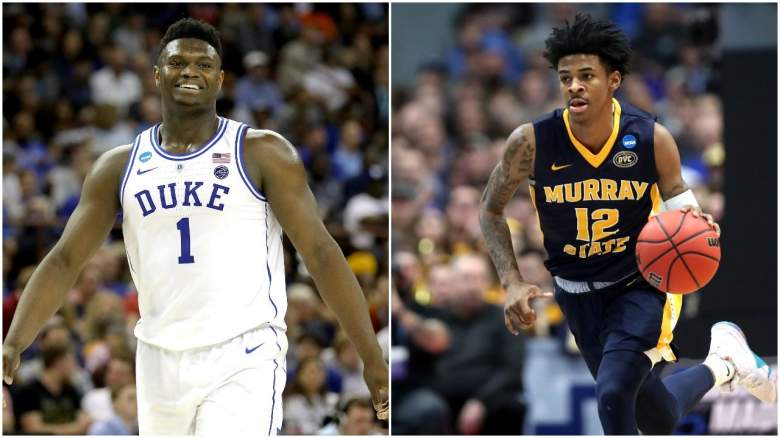 NBA mock draft two rounds lottery odds 2019