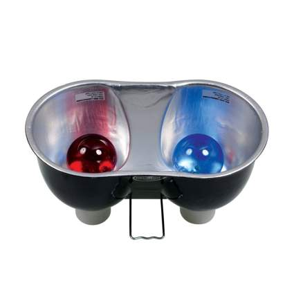 Zoo Med dual dome light best bearded dragon accessories