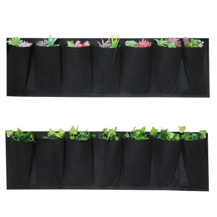 7 Pocket Hanging Planter Bag