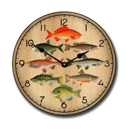 Big Clock Store Fishing Wall Clocks