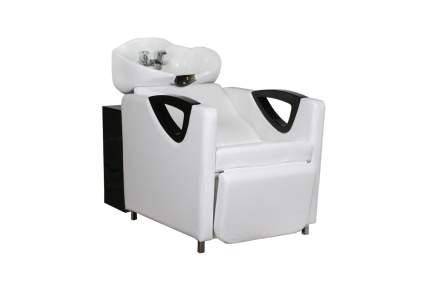 Boxy white salon shampooing chair