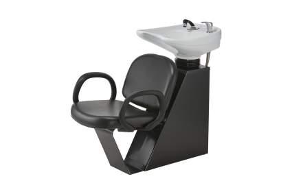 minimalist black shampoo chair