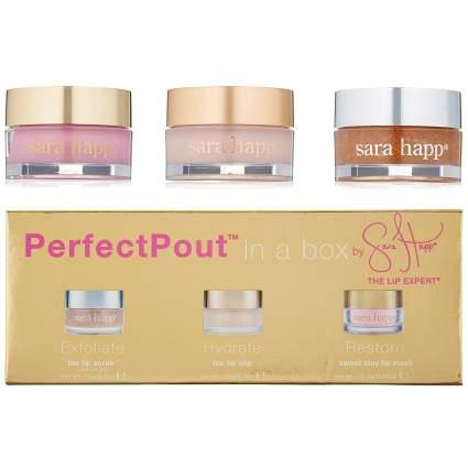 box of three sara happ lip treatments