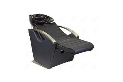 Black electric reclinging shampoo station