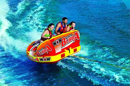 Wow World of Watersports, Big Bubba Hi Visbility Towable Deck Seat