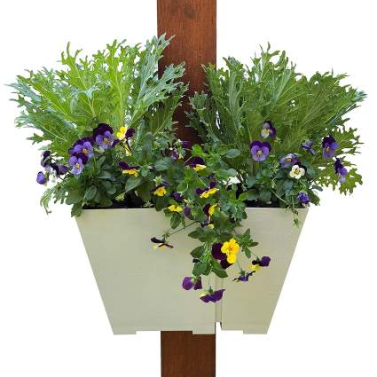 Adjustable Half-Wrap Hanging Planter