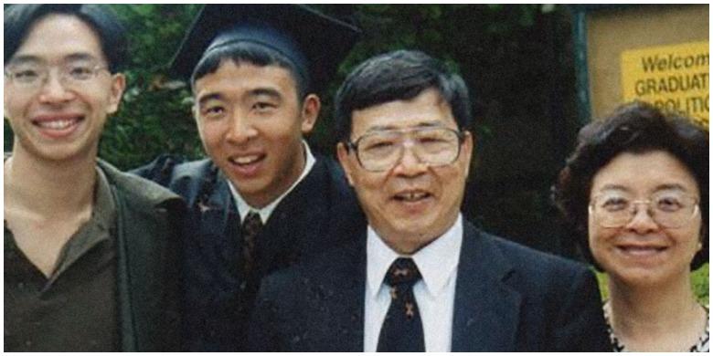 andrew yang family