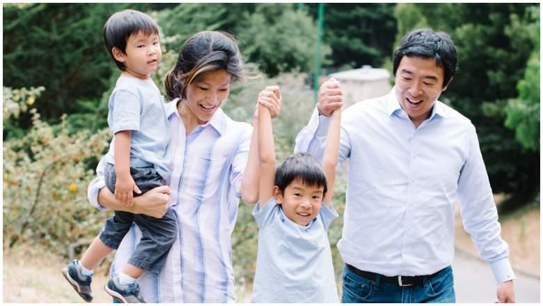 Andrew Yang's family and children