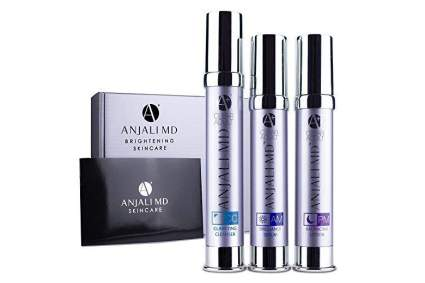 Thin purple tubes of Anjali MD product