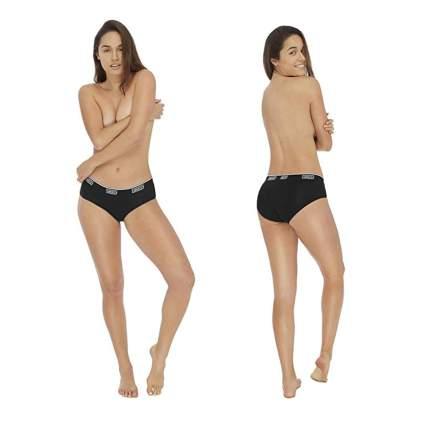 black bamboo period panties