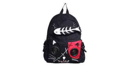 banned kitty speaker backpack