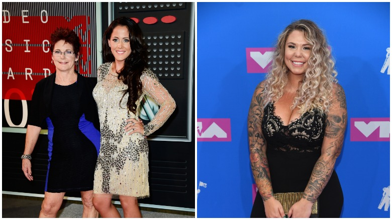 Jenelle Evans, Barb Evans, Kailyn Lowry