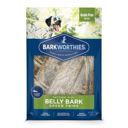 Barkworthies green tripe best dog treats