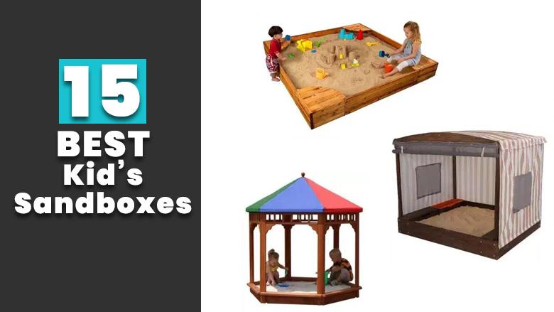 best kids sandboxes