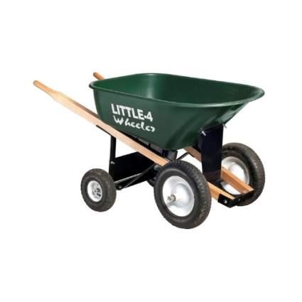 Big 4 Wheeler Heavy-Duty Wheelbarrow