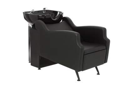 Black lounging shampoo unit