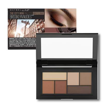 nude tone mini matte eyeshadow palette