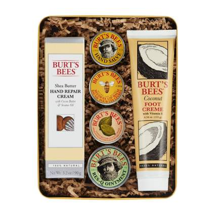 Burt's Bees gift set box