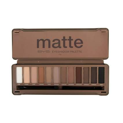 BYS matte eyeshadow palette