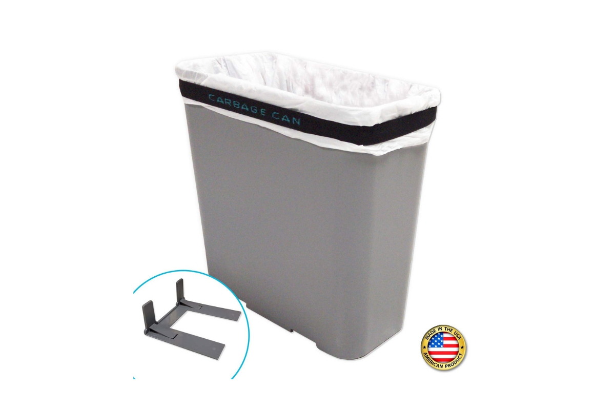 Hanging Car Trash Can by HappyChappy with Tissue Box /& Drink Holder