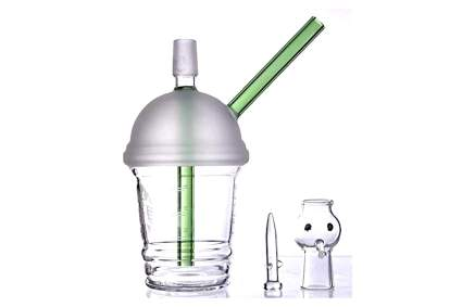 cheap dab rig looks like starbucks cup