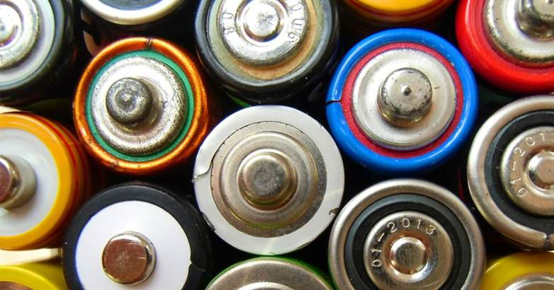 Batteries containing cadmium