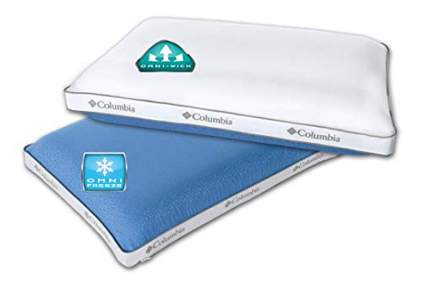 two sided cooling gel pillow