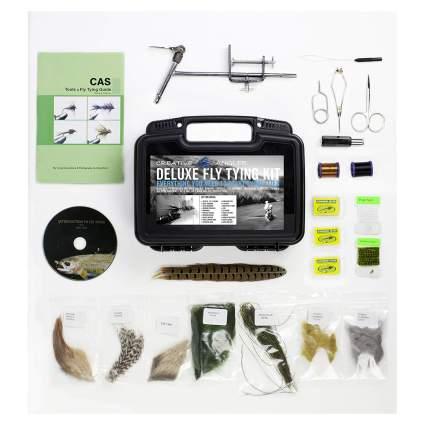 creative angler fly tying kit