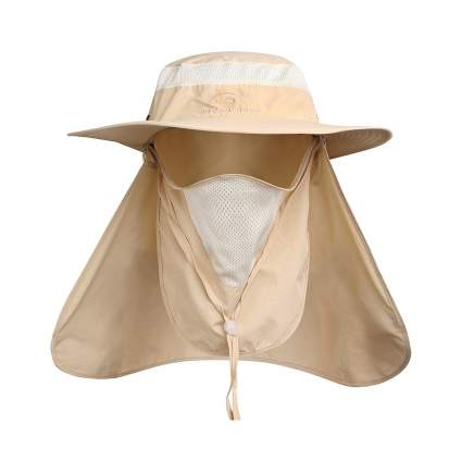 ddYoutdoors Sun & Insect Hat With Face Flap
