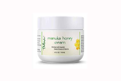 manuka honey cream with herbal extracts