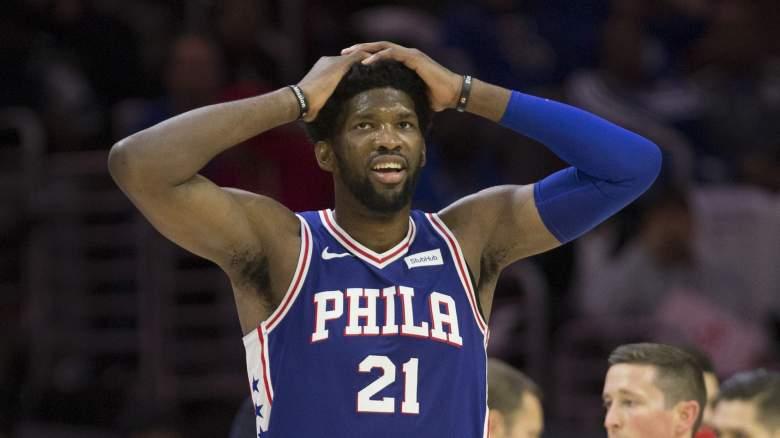 Philadelphia 76ers injury report Joel Embiid status updates