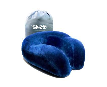 enzo memory foam travel pillow